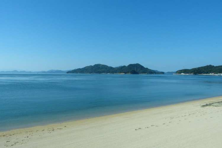 spiaggia isola mar interno Seto