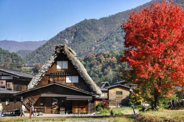 Shirakawa alpi giapponesi