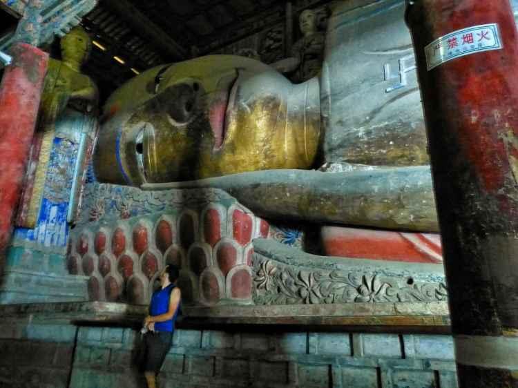 China biggest sleeping Buddha