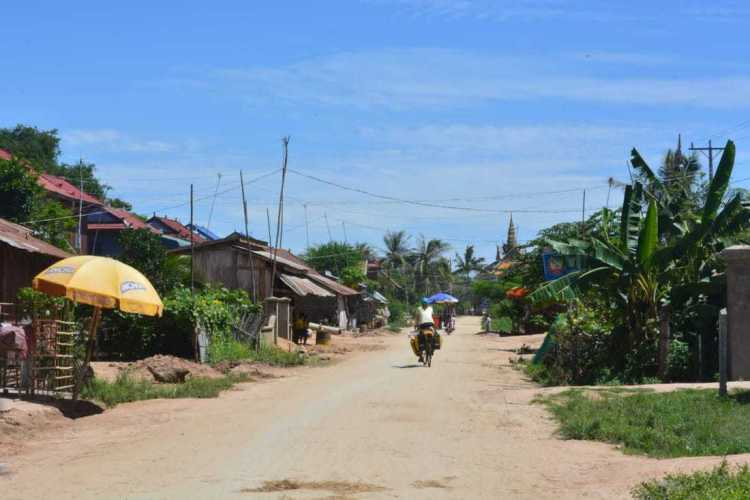 bicycle touring Cambodia