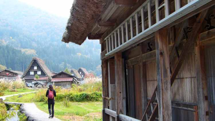 hiking Shirakawa