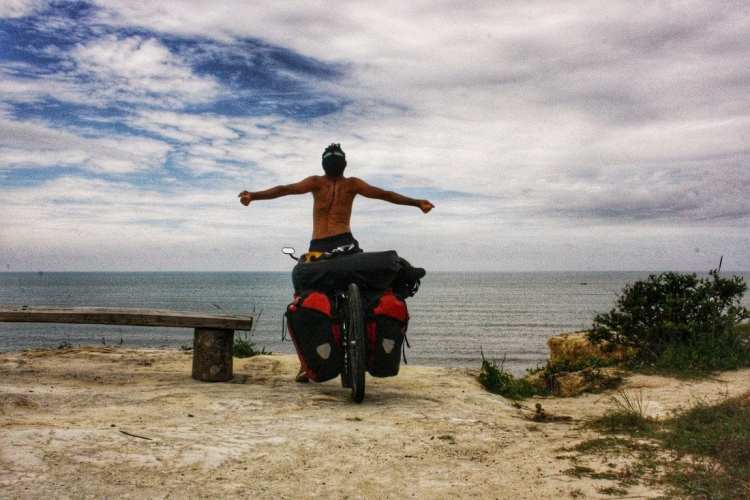Bicycle Touring Borneo Beaches Miri