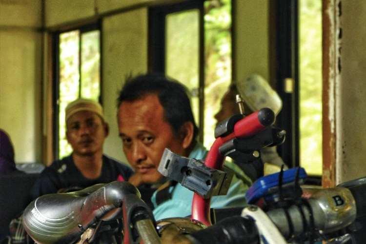 Borneo train bicycle