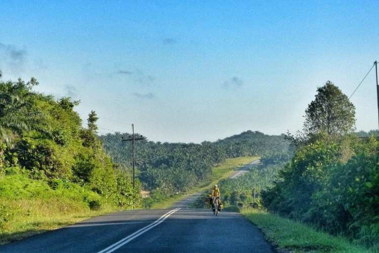 backpacking borneo