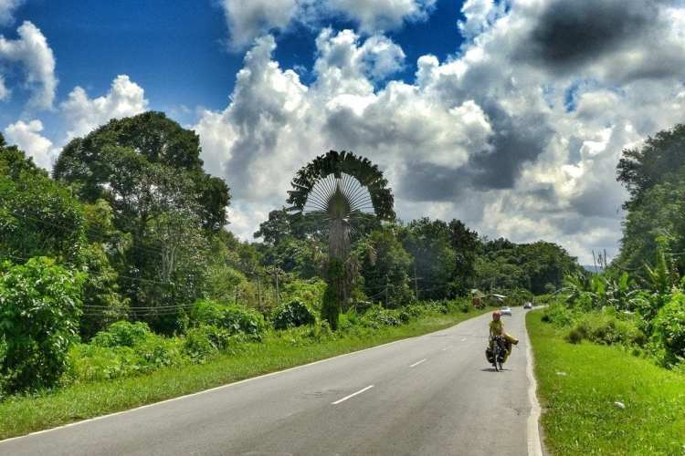Bicycle Touring Brunei Borneo