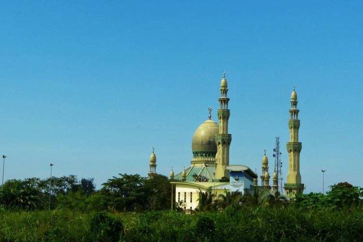 Kampung Pandan Mosque Kuala Belai. Brunei