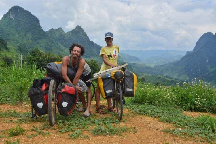 giro del mondo in bici economico