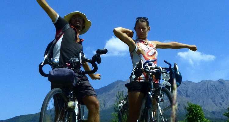 Kirishima by bike