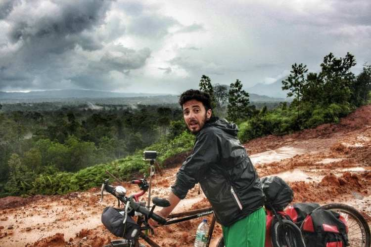 Bicycle touring in West Kalimantan
