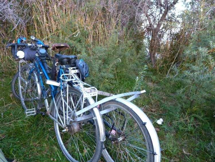 Titanium bike lock