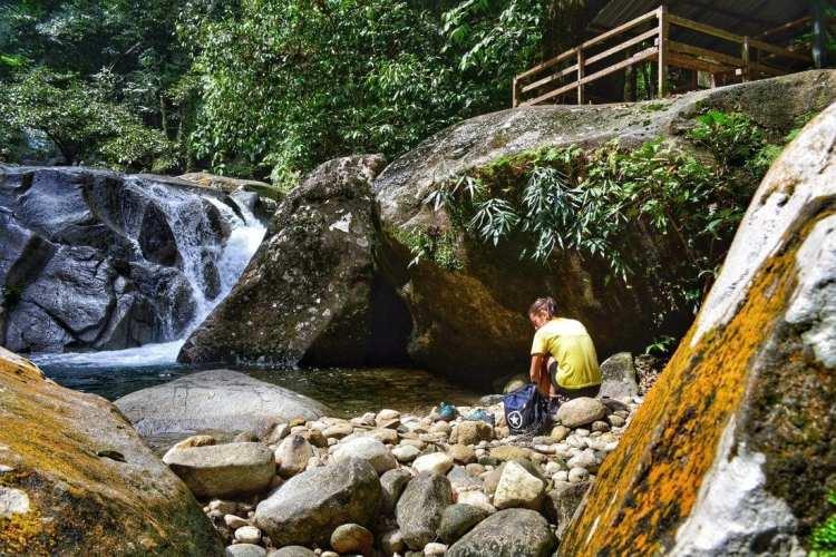 Waterfall Gunung Gading Kuching