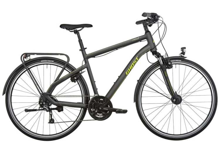 Cheap suspension touring bicycle