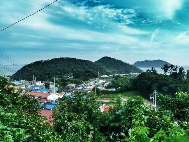 cycling korea islands