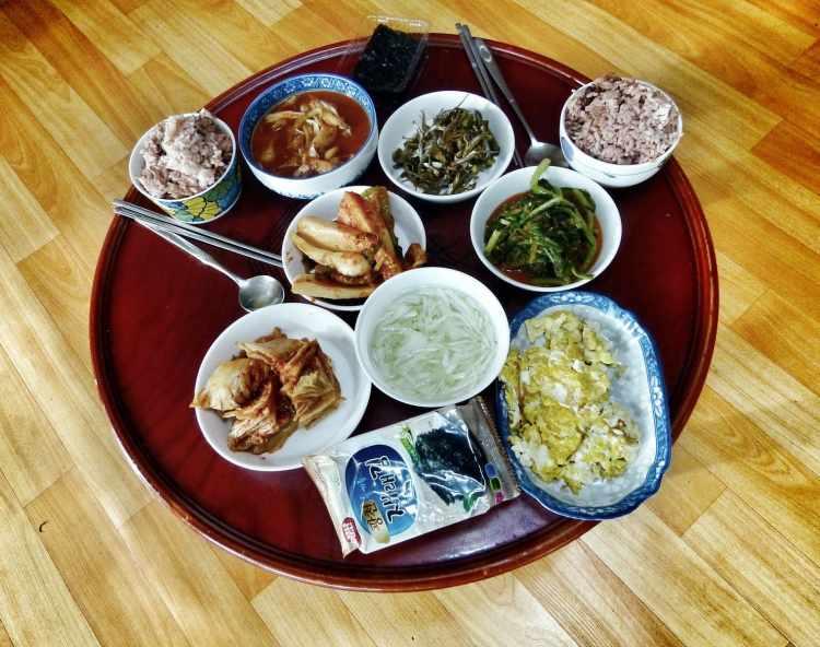 tipico pasto casalingo Coreano