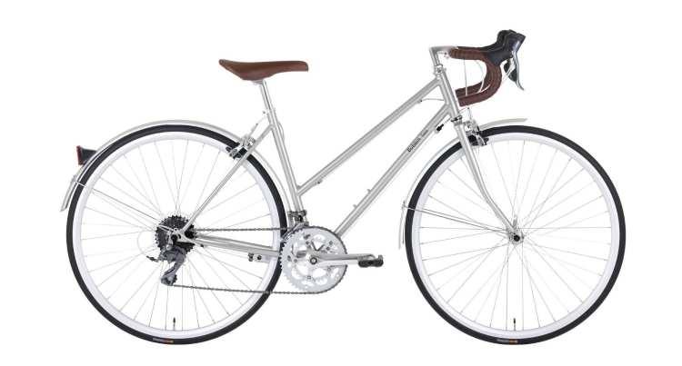 cheap stylish woman hybrid bike
