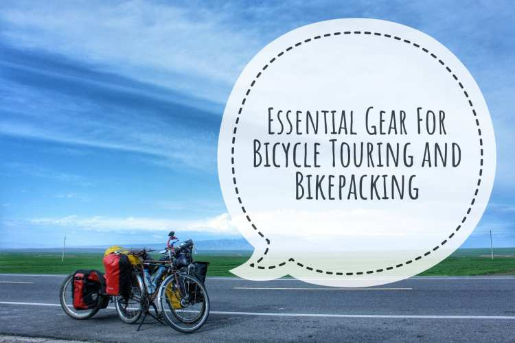 essential gear bicycle touring bikepacking