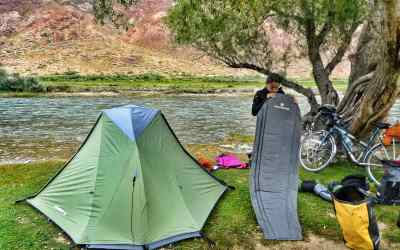 essential camping gear bicycle touring bickepacking
