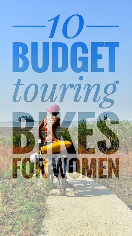 best budget touring bikes women