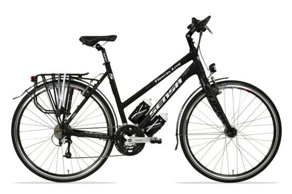 Cheap woman girl travel bike