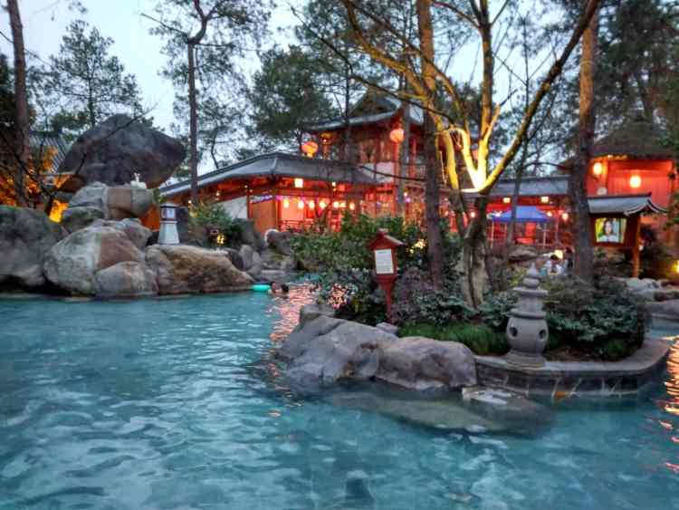 Tanfeng Hot Springs WuYi Hangzhou
