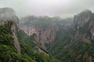 Shenxianju Taoism Mountain China