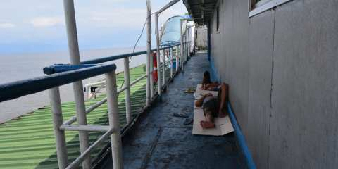 Boat Borneo Java