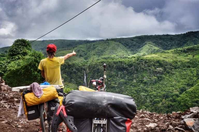 bikepacking indonesia