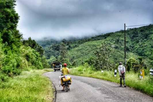 the road to Bajawa