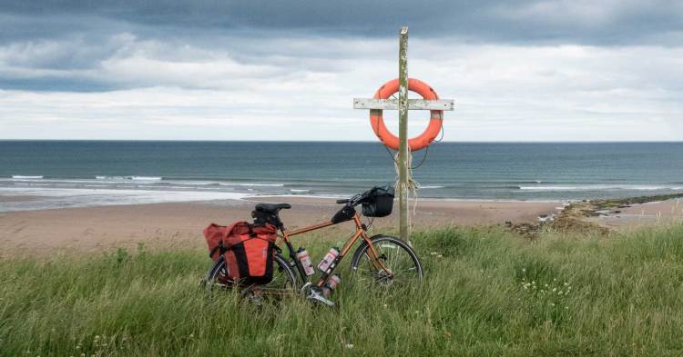 bicycle touring destination easy