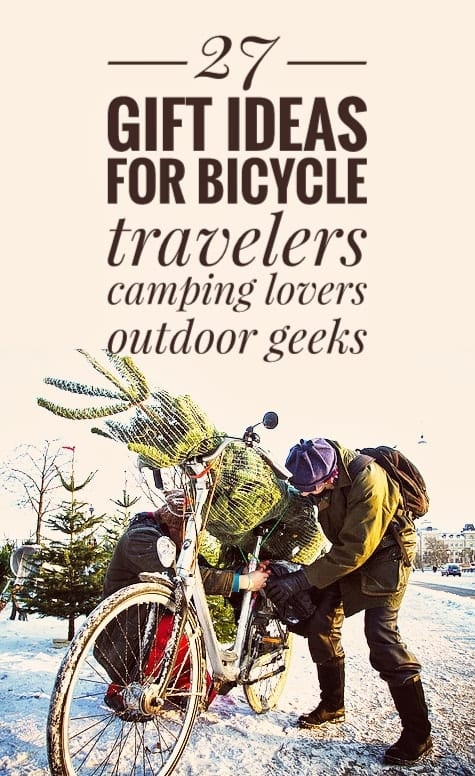 27 Gift Ideas For Bicycle Travelers Camping Cyclists Outdoor Geeks
