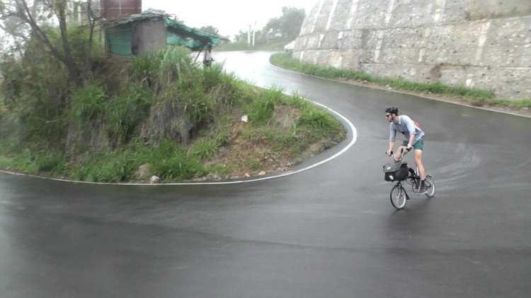 bike touring folding bicycle