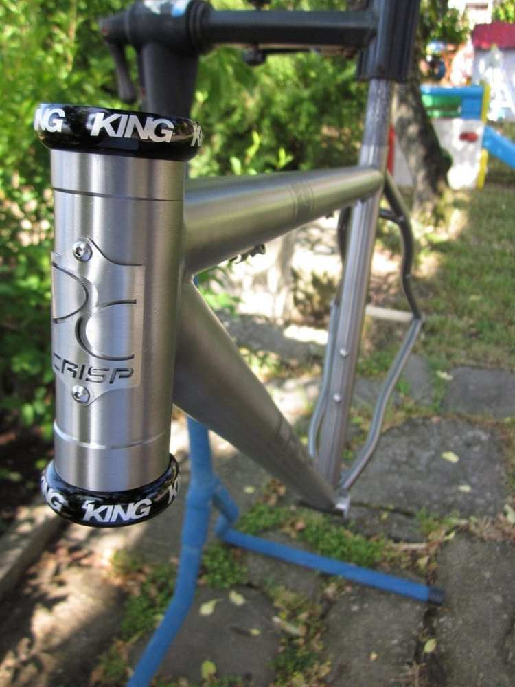 titanium bicycle made in italy Crisp touring