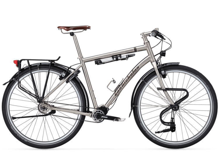 titanium bicycle van nicholas