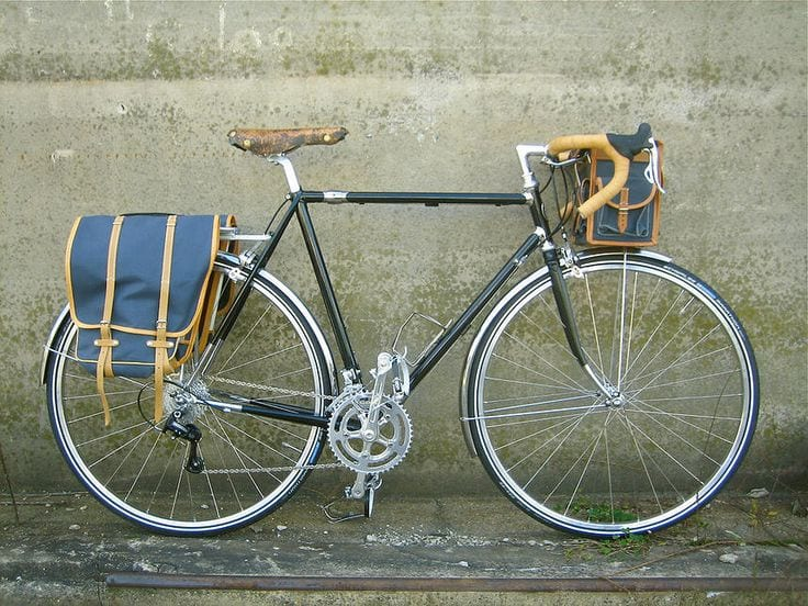 custom touring bicycles