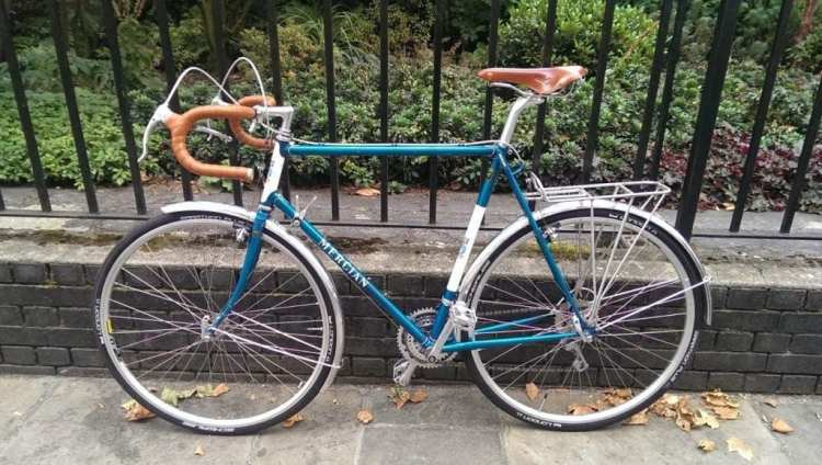 mercian custom touring bike