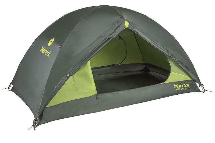 tenda ultralight 2p Marmot Crane Creek
