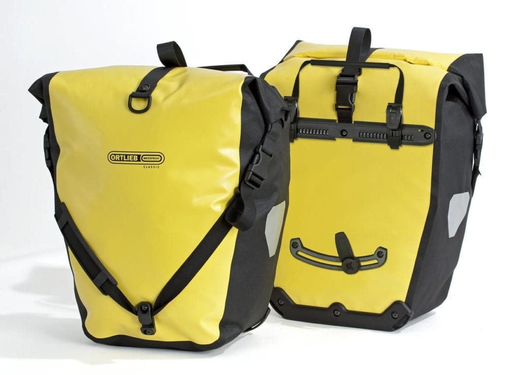 best panniers Ortlieb back roller classic