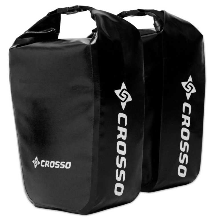 bicycle touring panniers Crosso Dry