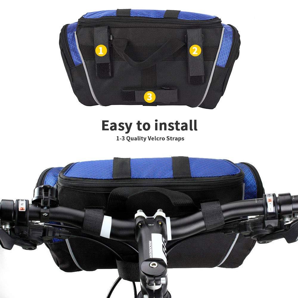Velcro Saddle Bag New Blackburn Barrier Small Seat Bag Bike Bag