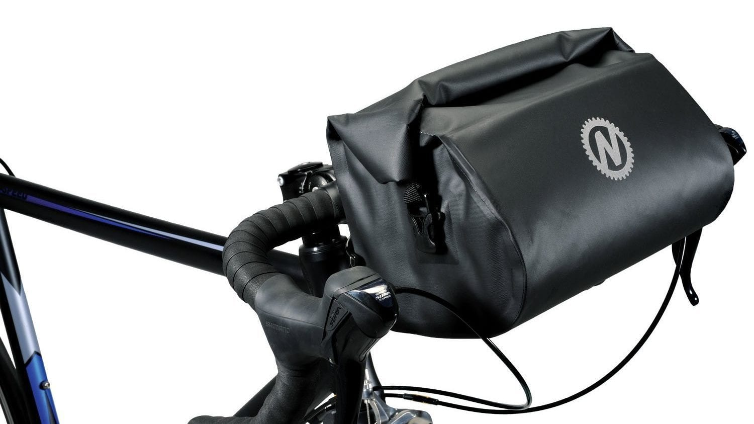 ROCK BROS Waterproof Bike Packing Front Handlebar Bags 2 Dry Packs for MTB Ro...