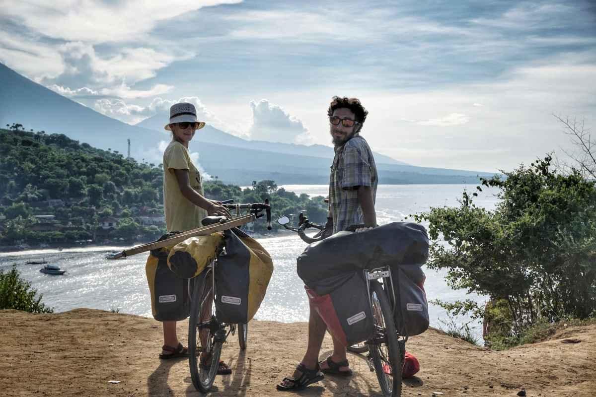 cycloscope around the world by bike