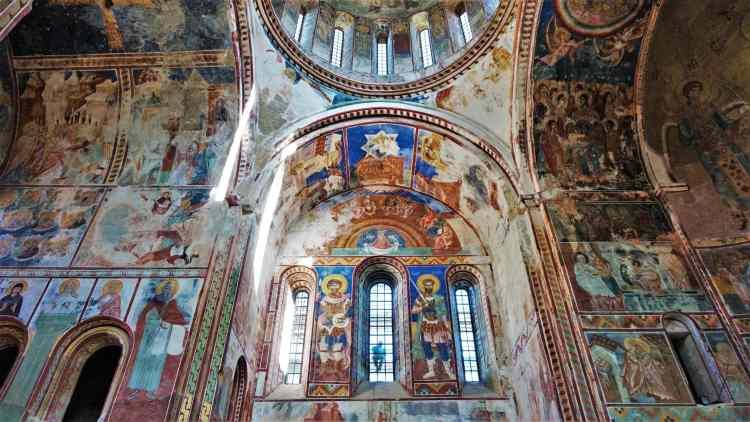georgia viaggio monastero Gelati