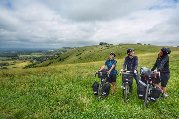Sfidare il South Downs Way a pieno carico - Cicloturismo in Inghilterra 10