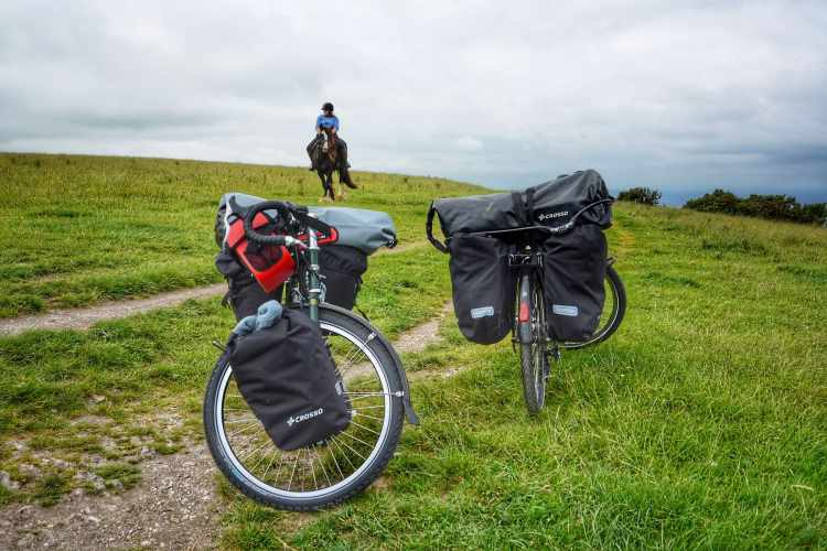 bike touring storage vs bikepacking