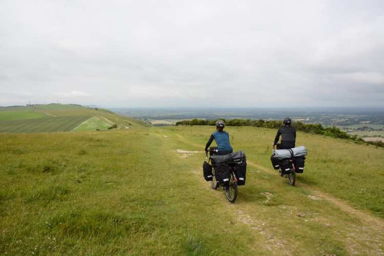 cycling south downs