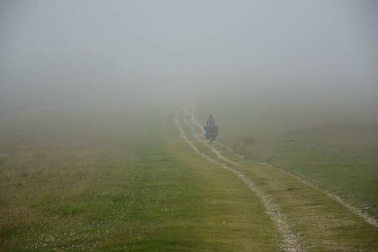 south downs way cicloturismo Inghilterra