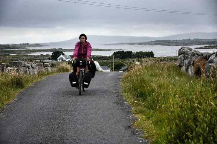 Ireland by bicycle connemara