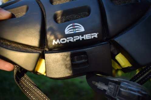 morpher casco pieghevole meccanismo