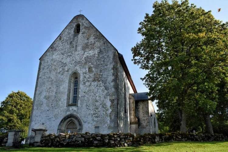 St. Catherine's Church at Karja