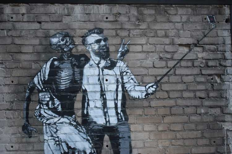 Tallinn in 3 days Street art in Telliskivi Creative City